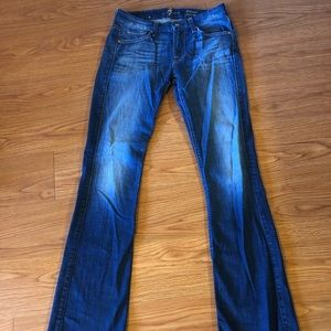 7 for all Mankind Kimmie bootcut jeans size 27